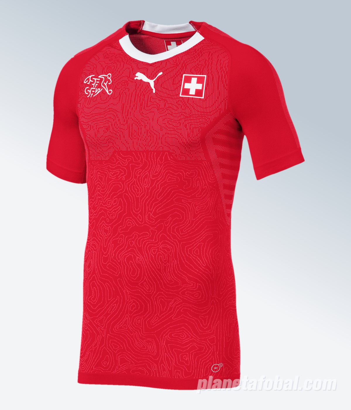 Camiseta titular Puma de Suiza 2018/19
