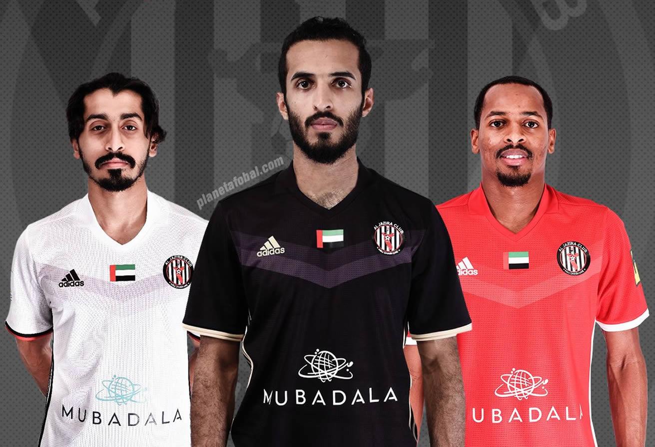 Nuevos kits del Al Jazira Club | Foto Web Oficial