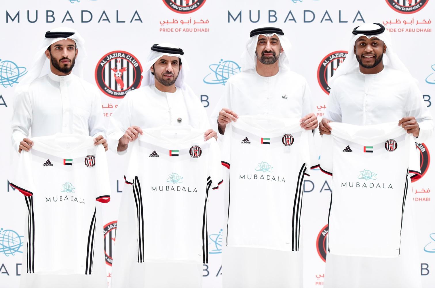 Nuevo kit titular Adidas del Al Jazira Club | Foto Web Oficial