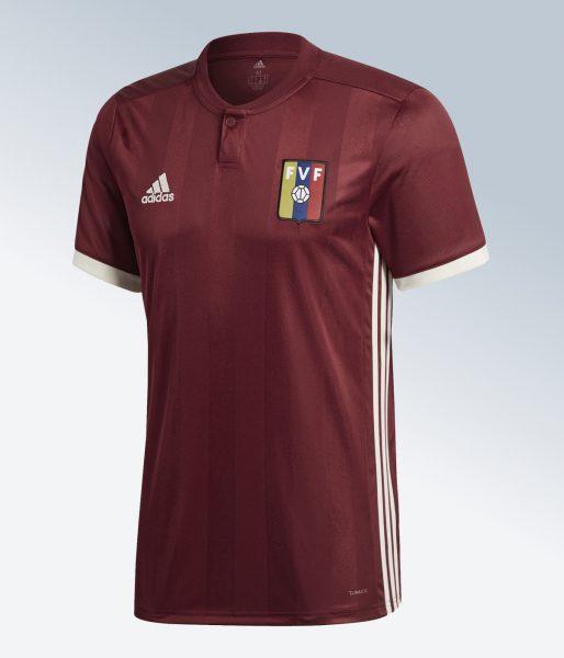 Camiseta titular 2018 de Venezuela | Imagen Adidas