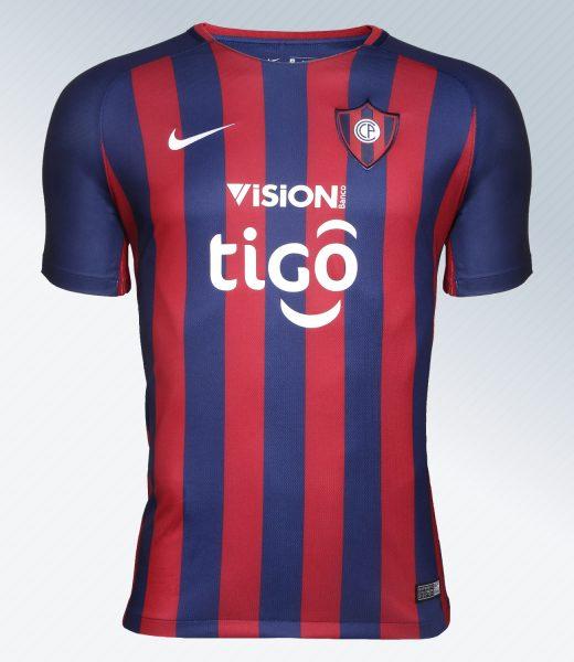 Camiseta titular Nike de Cerro Porteño   Foto Twitter Oficial