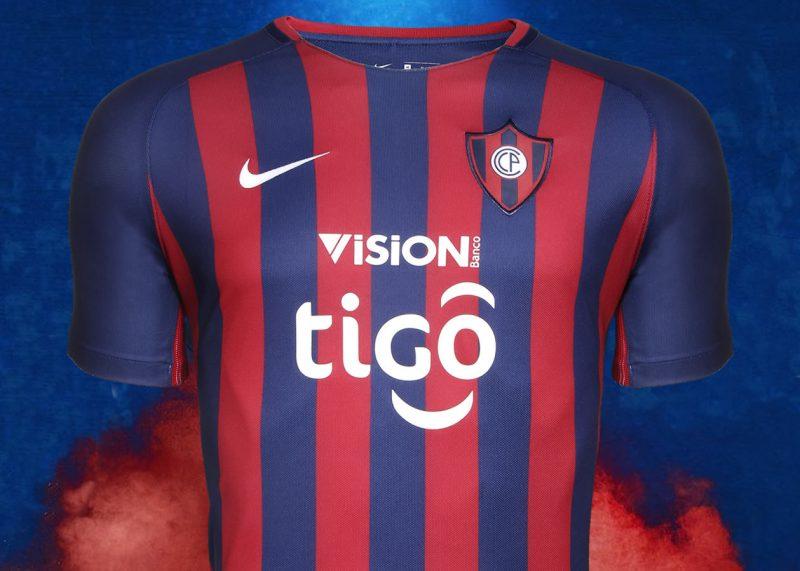 Camiseta titular Nike de Cerro Porteño | Foto Twitter Oficial