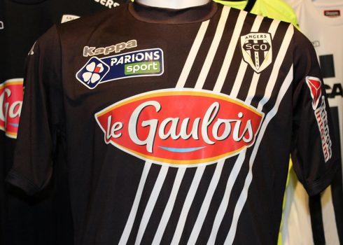 Camiseta especial Kappa del Angers SCO | Foto Web Oficial