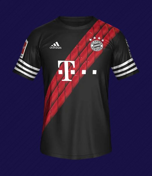 Camiseta digital del FC Bayern | Foto EA Sports