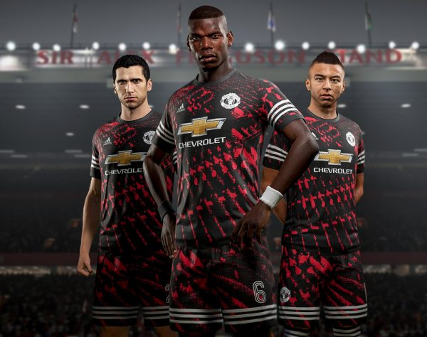 Camiseta digital del Manchester United | Foto EA Sports