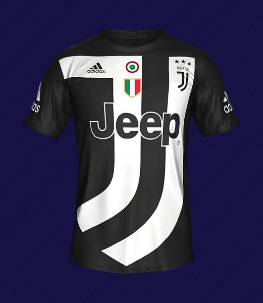Camiseta digital de la Juventus | Foto EA Sports