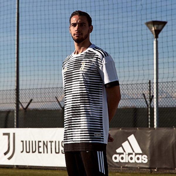 Remera pre-match adidas x PARLEY de la Juventus | Foto Adidas
