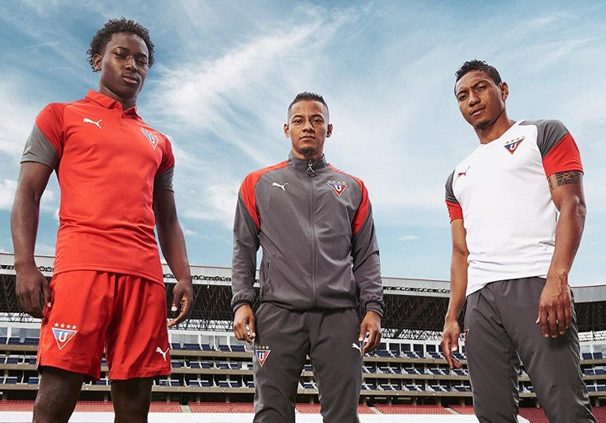 Puma vestirá a la Liga de Quito