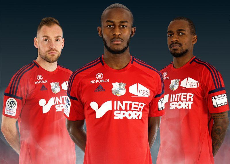 Nueva camiseta Adidas del Amiens SC | Foto Web Oficial