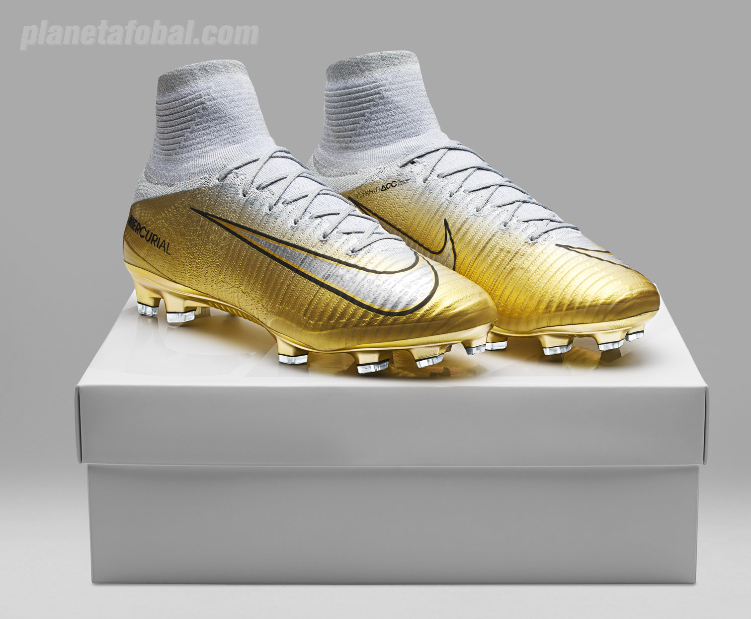 Botines especiales Quinto Triunfo de CR7 | Foto Nike