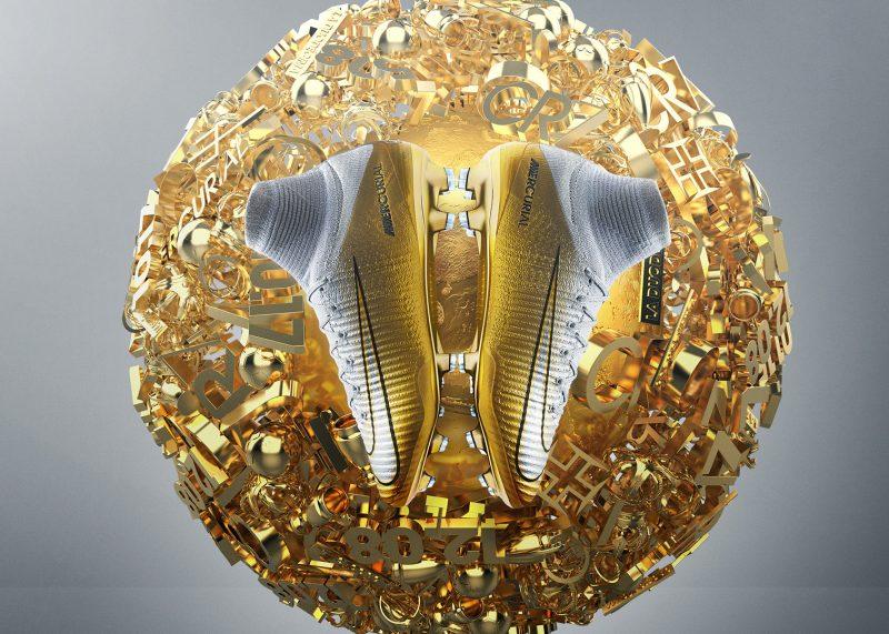 Botines especiales Quinto Triunfo de CR7   Foto Nike