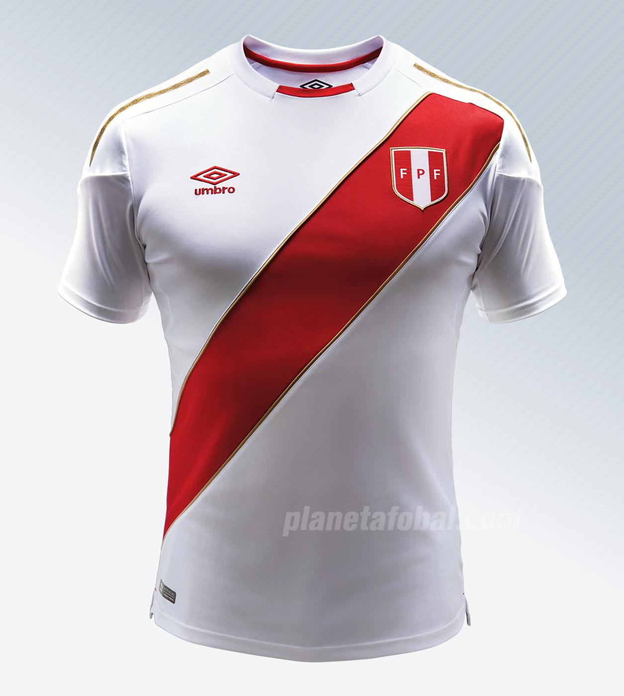 Nueva camiseta para Rusia 2018 de Perú | Imagen Umbro