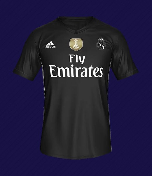 Camiseta digital del Real Madrid | Foto EA Sports