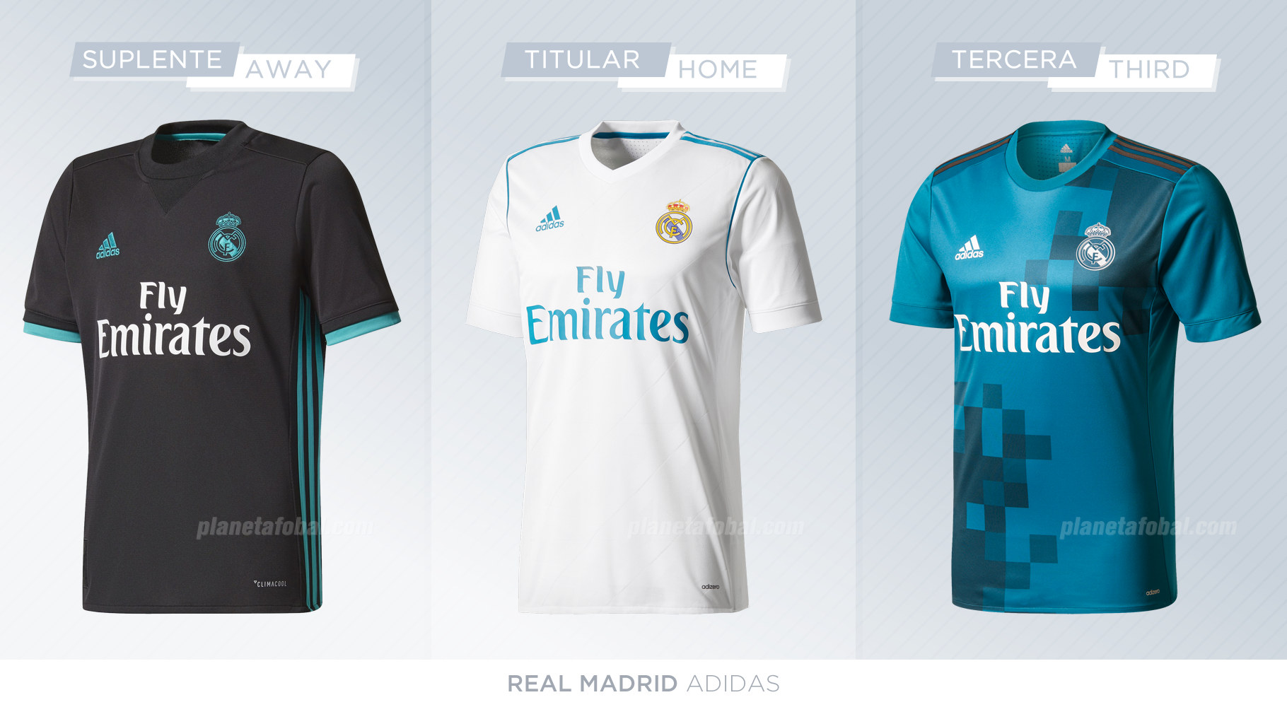 Camisetas del Real Madrid | Adidas
