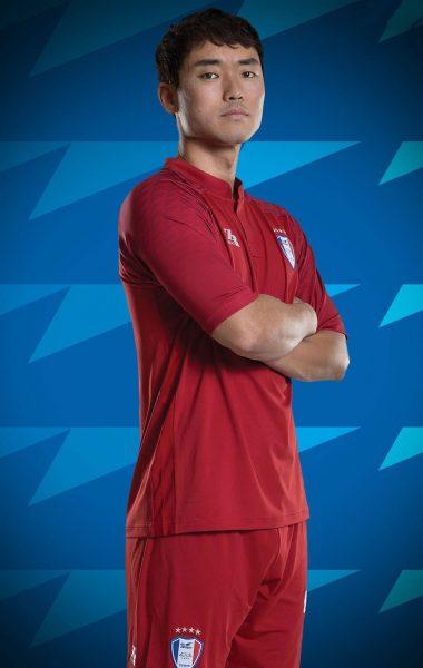 Camiseta de arquero Zaicro del Suwon Samsung Bluewings | Imagen Web Oficial