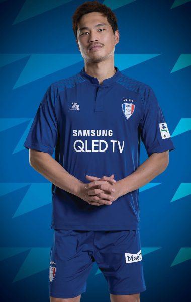 Camiseta titular Zaicro del Suwon Samsung Bluewings | Imagen Web Oficial