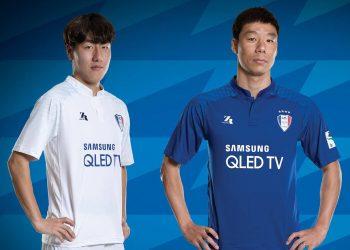 Camisetas Zaicro del Suwon Samsung Bluewings | Imagen Web Oficial