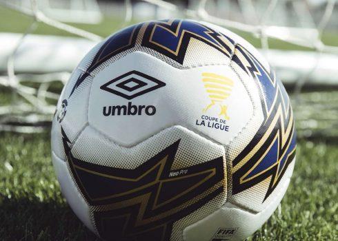 Balón oficial Umbro de la Coupe de la Ligue | Imagen LFP