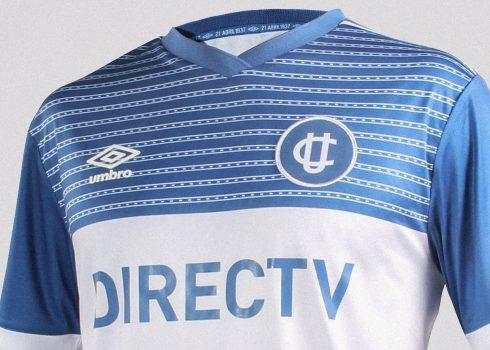 Tercera camiseta de la U Católica de Chile | Imagen Web Oficial