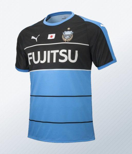 Kit titular Puma del Kawasaki Frontale ACL 2018 | Foto Web Oficial