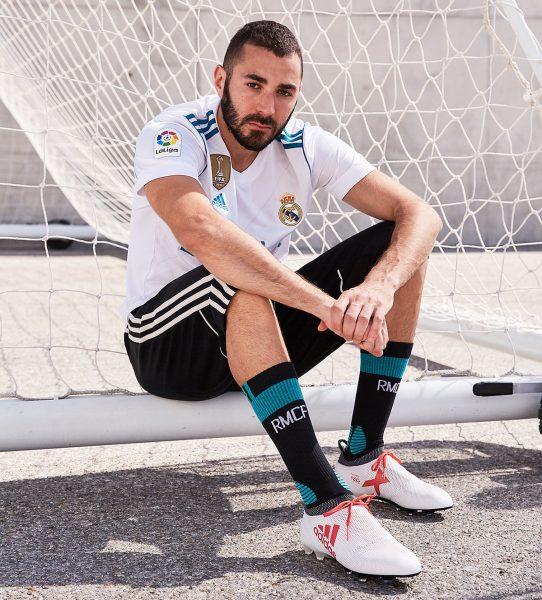Karim Benzema con los nuevos X | Foto Adidas