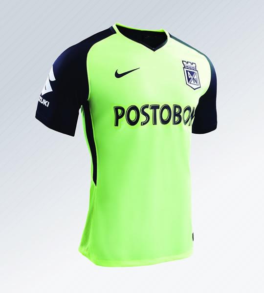 Camiseta alterna Nike de Atlético Nacional | Foto Web Oficial