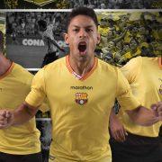 Camiseta titular 2018 del Barcelona SC | Foto Marathon