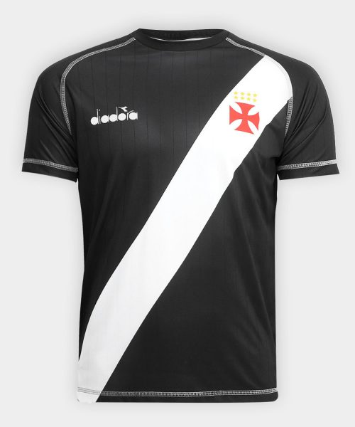 Camiseta titular Diadora del Vasco Da Gama | Foto Web Oficial