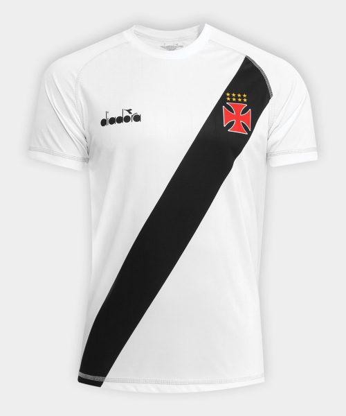 Camiseta suplente Diadora del Vasco Da Gama | Foto Web Oficial