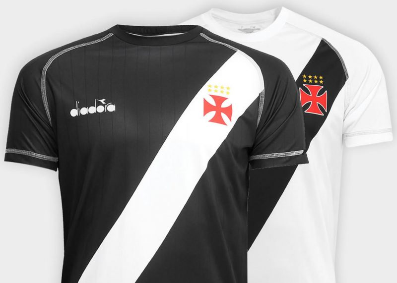 Camisetas Diadora del Vasco Da Gama   Foto Web Oficial