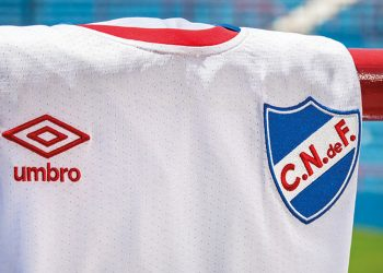 Nueva camiseta titular Umbro 2018 de Nacional | Foto Web Oficial