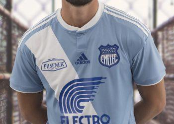 Camiseta titular 2018 del Emelec | Foto Twitter Oficial