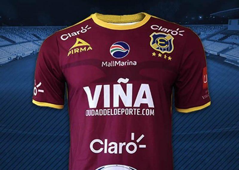 Tercera camiseta del Everton del Viña del Mar | Foto Facebook Oficial