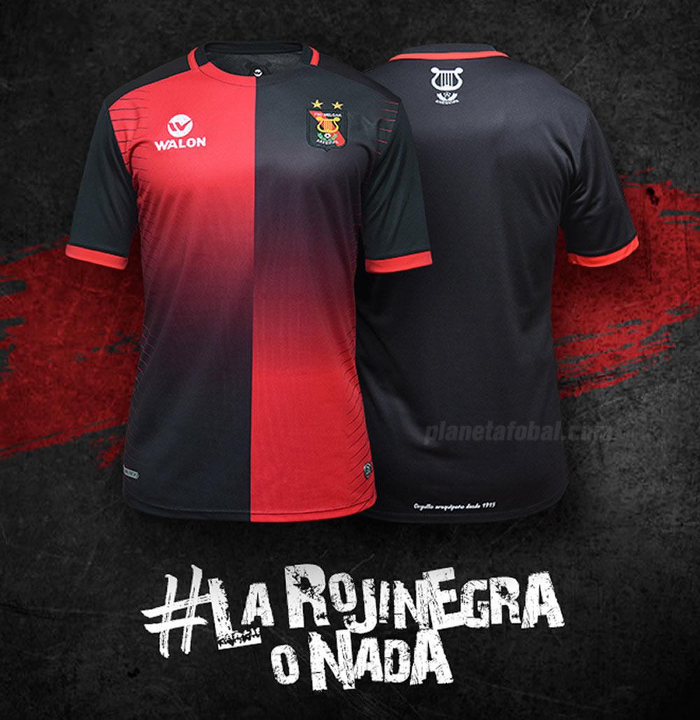 Camiseta titular Walon del Melgar | Foto Facebook Oficial