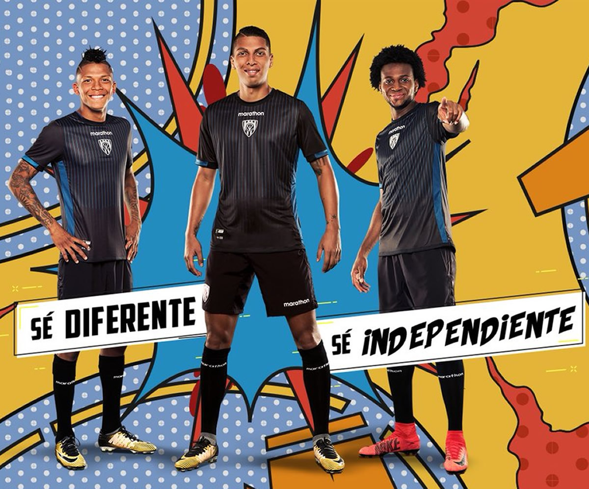 Camiseta local 2018 de Independiente del Valle | Foto Marathon