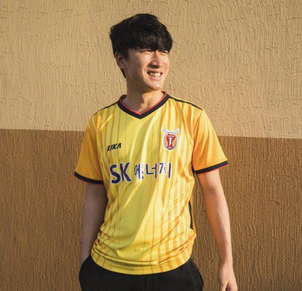 Camiseta suplente arquero 2018 del Jeju United | Foto Web Oficial
