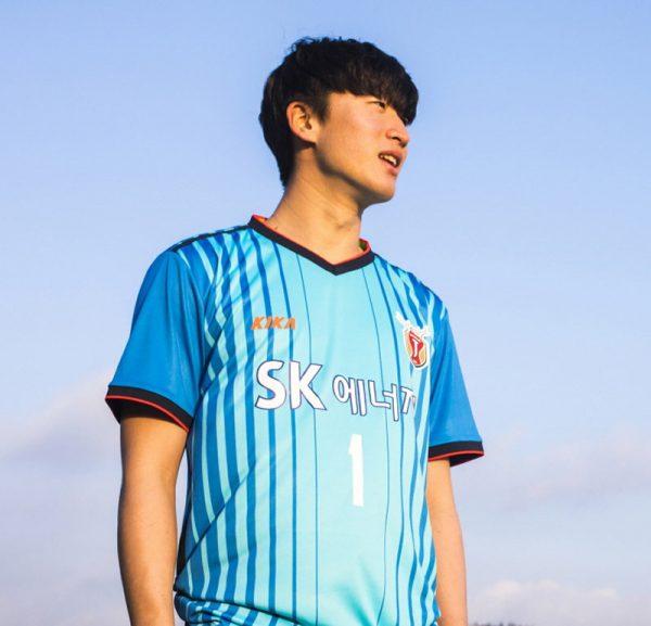 Camiseta titular arquero 2018 del Jeju United | Foto Web Oficial