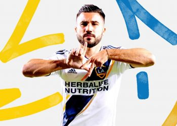 Camiseta titular Adidas de LA Galaxy | Imagen Web Oficial