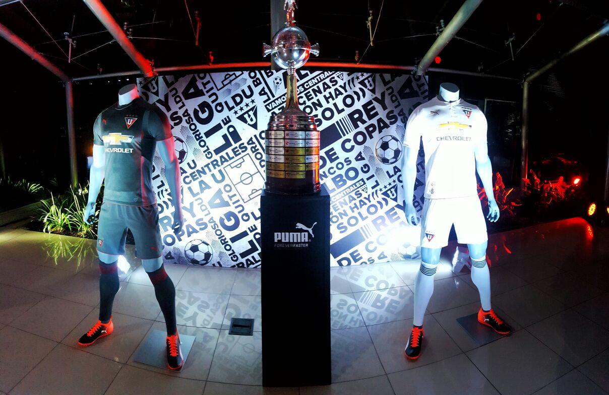 Camisetas Puma de la Liga de Quito | Foto Twitter Oficial