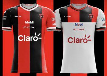 Camisetas Kelme de la Liga Deportiva Alajuelense | Imagen Facebook Oficial