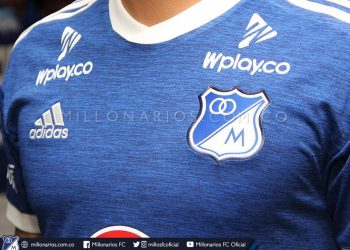 Camiseta titular 2018 de Millonarios FC | Imagen Twitter Oficial