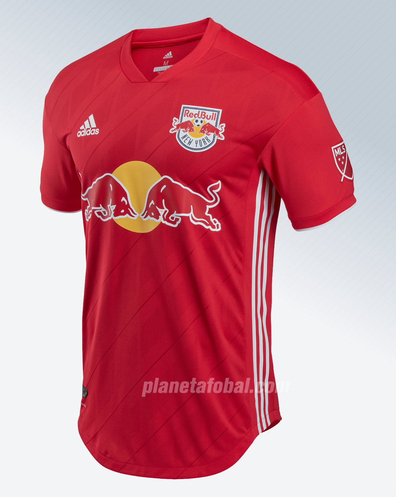 Camiseta suplente Adidas del New York Red Bulls | Foto Web Oficial