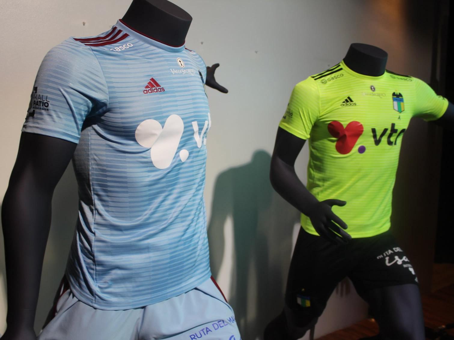 Nuevas camisetas Adidas del O'Higgins FC | Foto Facebook Oficial