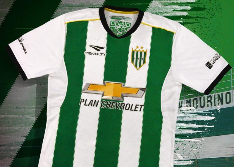 Camiseta titular 2018 Penalty de Banfield   Foto Twitter iamnoticias