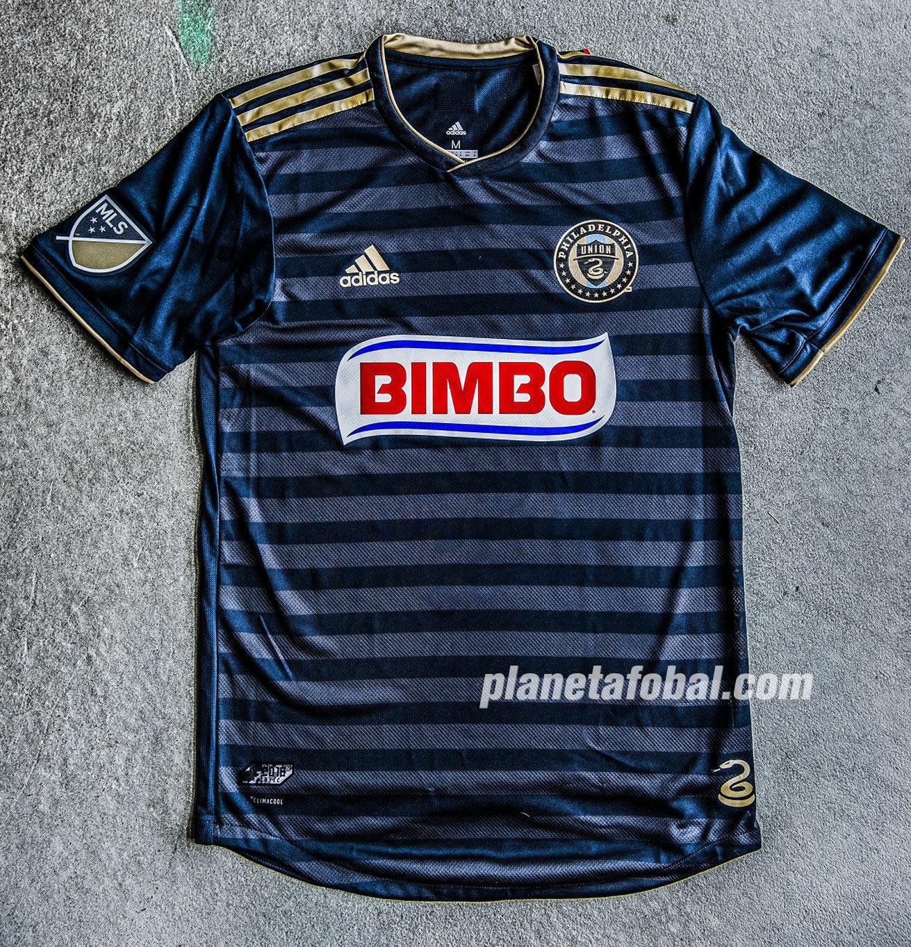 Nueva camiseta Adidas del Philadelphia Union   Foto Web Oficial
