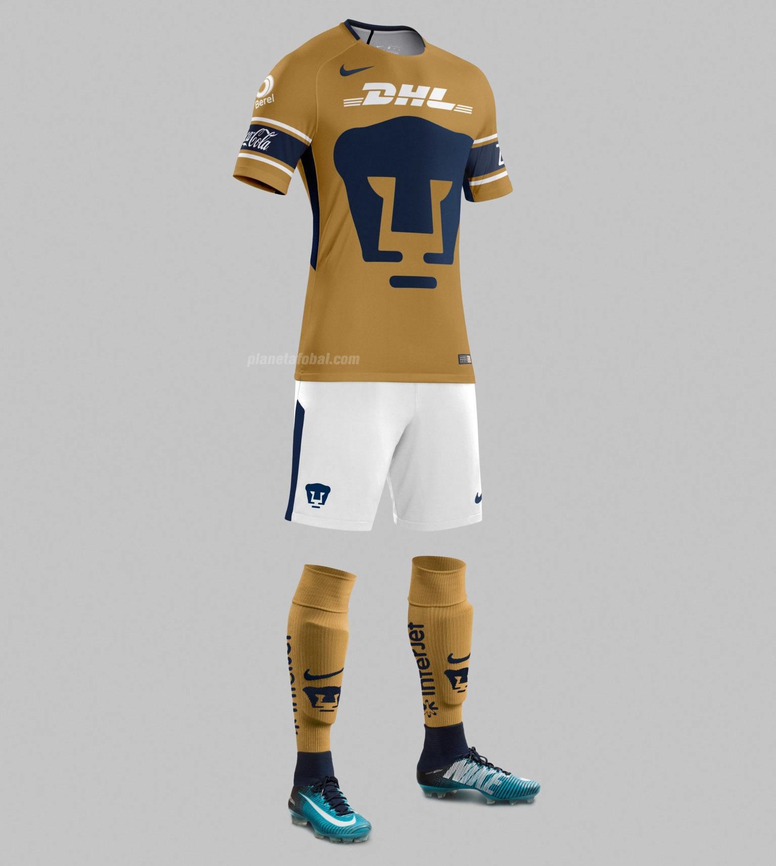 Tercera camiseta de los Pumas de la UNAM | Foto Nike