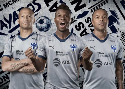 Tercera camiseta Puma de los Rayados   Foto Twitter Oficial