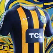 Camiseta titular 2018 de Rosario Central | Foto Nike