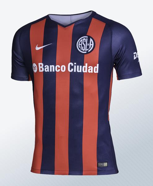 Camiseta titular Nike 2018 de San Lorenzo | Imagen Web Oficial
