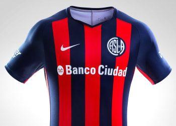 Camiseta titular 2018 de San Lorenzo | Imagen Nike